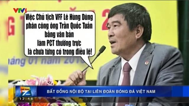 Bat dong noi bo tai Lien doan bong da Viet Nam hinh anh