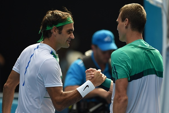 Australian Open 2016: Roger Federer 3-0 Tomas Berdych hinh anh