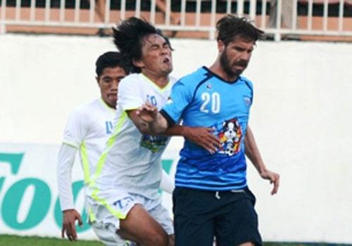 Tong hop tran dau: HAGL 0-1 Yokohama FC hinh anh