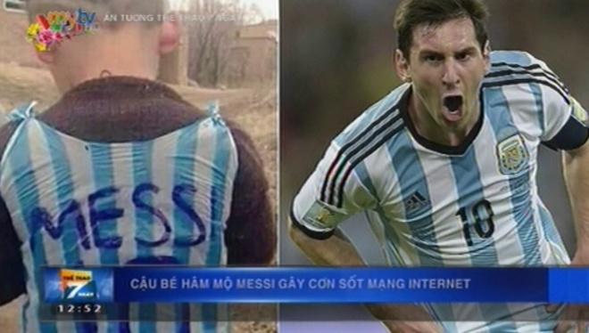 Cau be ham mo Messi gay sot mang Internet hinh anh