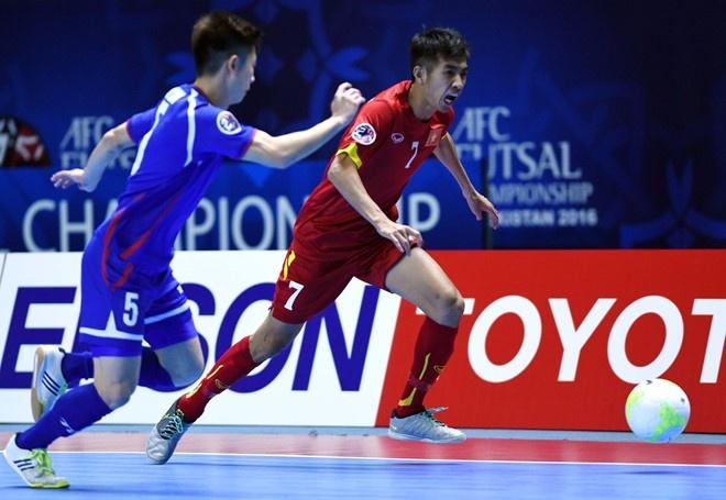 Video Viet Nam thang tuyen futsal Dai Loan 5-4 hinh anh