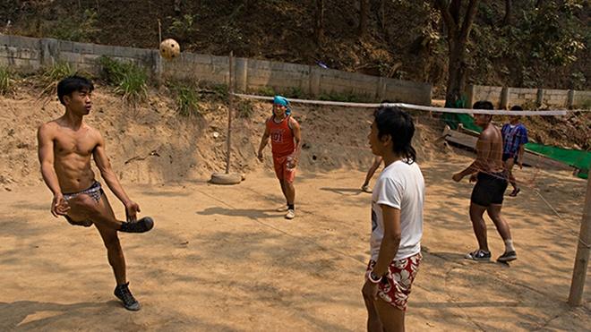 Phong trao cau may va futsal o Thai Lan hinh anh