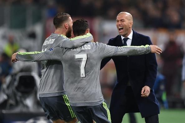 Tong hop tran dau: AS Roma 0-2 Real Madrid hinh anh