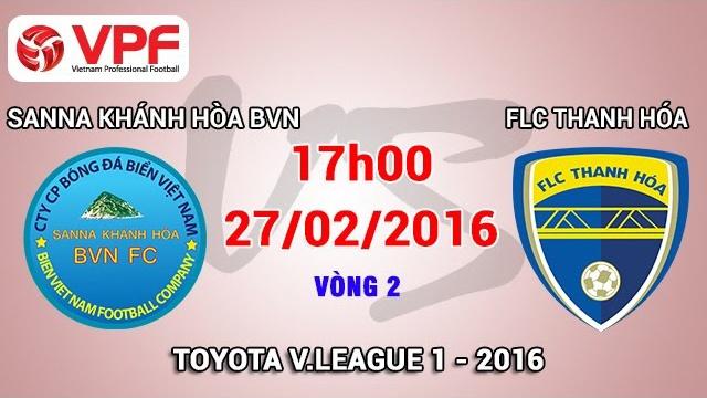 Vong 2 V.League: Khanh Hoa 0-2 Thanh Hoa hinh anh