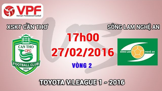 Vong 2 V.League: Can Tho 2-0 Song Lam Nghe An hinh anh