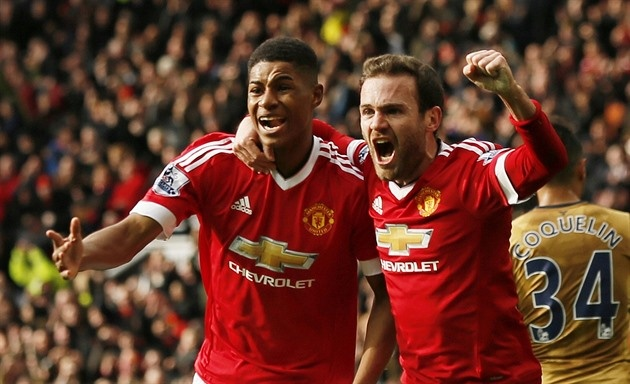 Tong hop tran dau: Manchester United 3-2 Arsenal hinh anh
