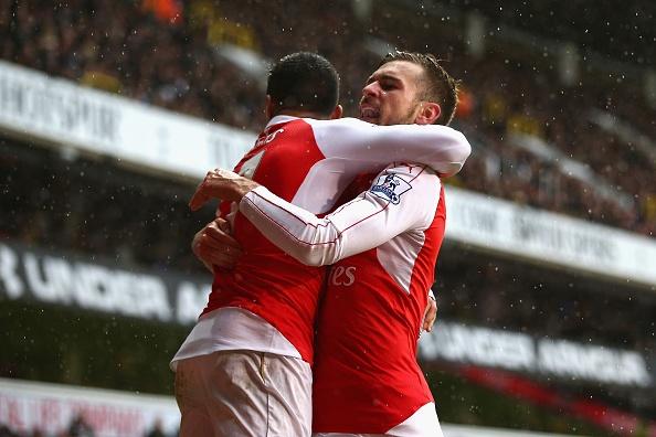 Tong hop tran dau: Tottenham 2-2 Arsenal hinh anh