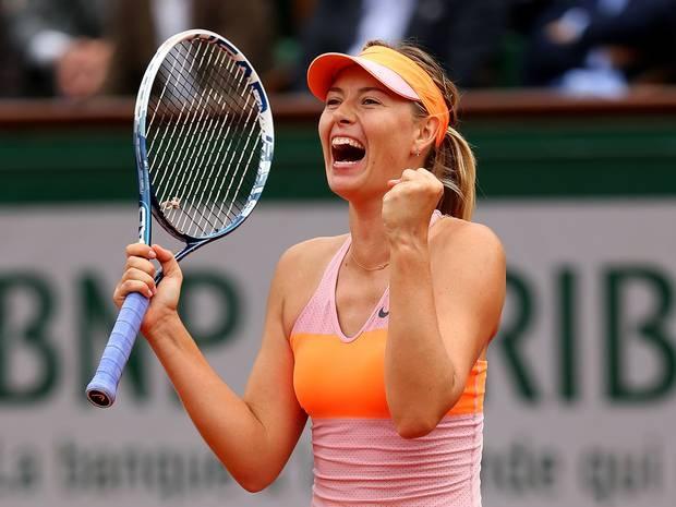 Su nghiep huy hoang cua hoa khoi tennis Sharapova hinh anh
