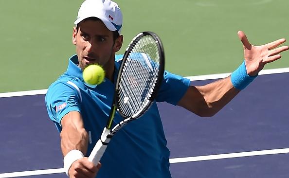 Novak Djokovic 2-0 Milos Raonic Highlights hinh anh