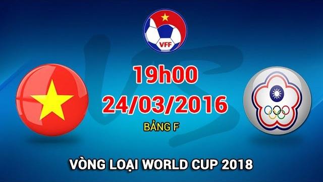 Video truc tiep bong da Viet Nam vs Dai Loan hinh anh