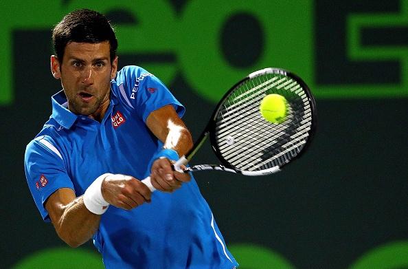 Video Novak Djokovic 2-0 Tomas Berdych hinh anh