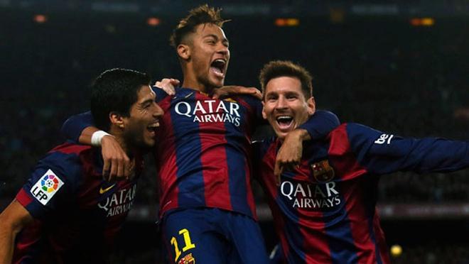 5 ban thang dep cua Messi, Neymar va Suarez vao luoi Real hinh anh