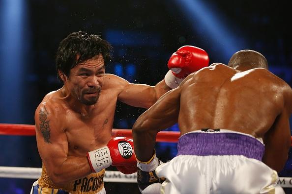 Tong hop tran Manny Pacquiao thang ap dao Timothy Bradley hinh anh