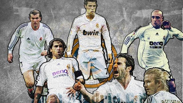 Doi hinh huyen thoai hay nhat lich su Real Madrid hinh anh