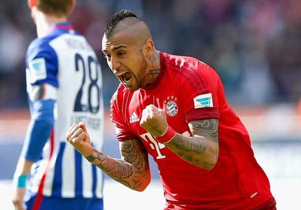 Bayern tien sat chuc vo dich sau tran thang Hertha Berlin hinh anh