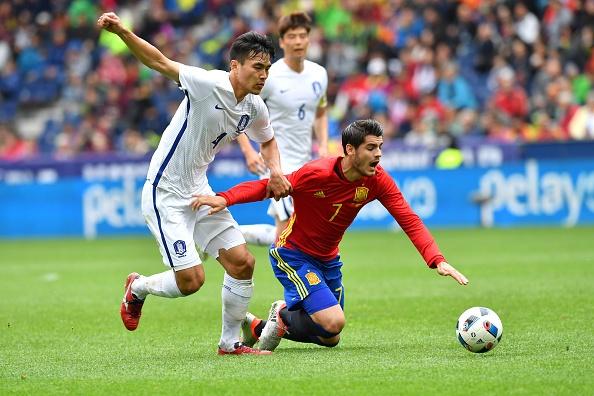 Highlights Tay Ban Nha 6-1 Han Quoc hinh anh