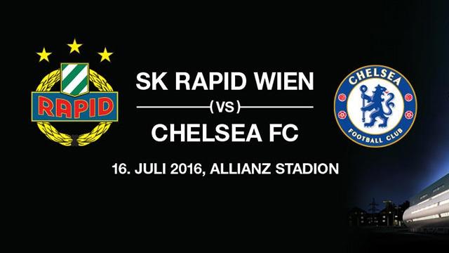 Video truc tiep bong da: Rapid Wien vs Chelsea hinh anh