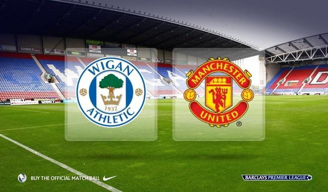Video truc tiep bong da: Manchester United vs Wigan hinh anh