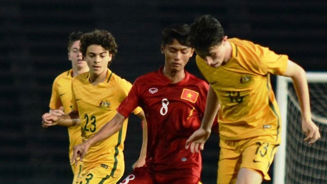 Highlights U16 Viet Nam 3-3 U16 Australia (pen 3-5) hinh anh