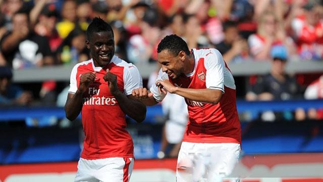 Highlights MLS All Stars 1-2 Arsenal hinh anh