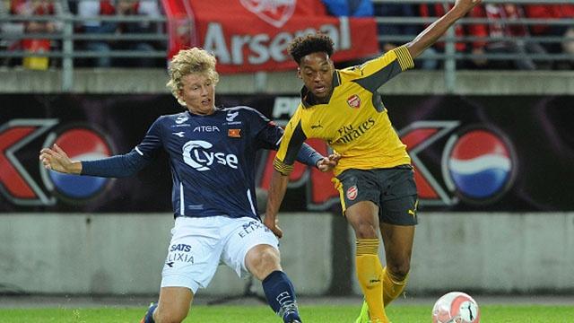 Highlights Viking 0-8 Arsenal hinh anh