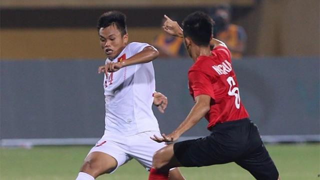 Tran hoa cua U19 Viet Nam truoc Singapore hinh anh