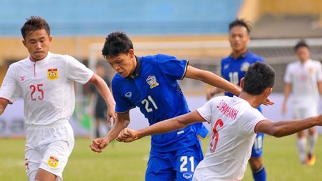 Video U19 Thai Lan vat va thang U19 Lao 2-1 hinh anh