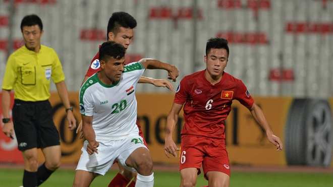 Video U19 Viet Nam xuat sac cam hoa U19 Iraq hinh anh