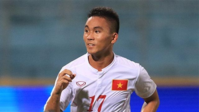 Ban thang cua Tran Thanh vao luoi U19 Bahrain hinh anh