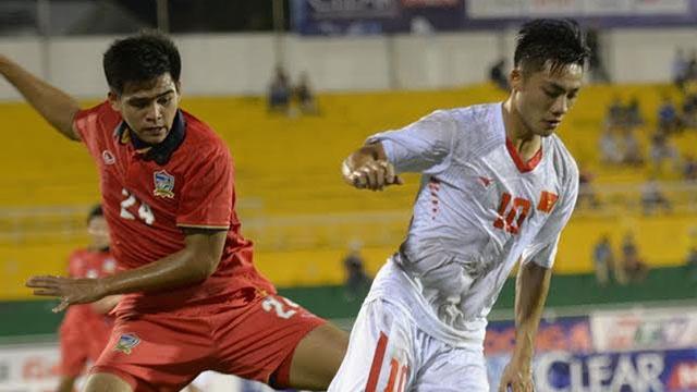 Highlights U21 Viet Nam 1-3 U21 Thai Lan hinh anh