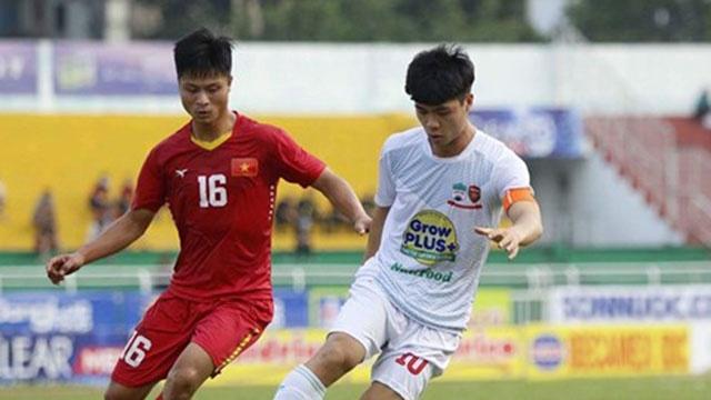 Highlights U21 Viet Nam 0-1 U21 HAGL hinh anh
