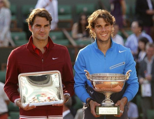 nadal vs Federer anh 1