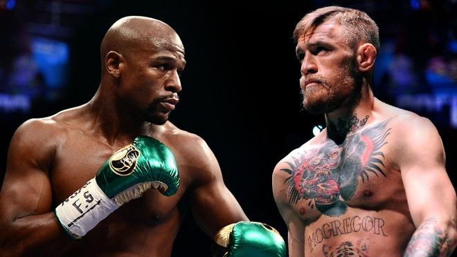 Mayweather vs McGregor: Huyen thoai doi dau ga dien hinh anh