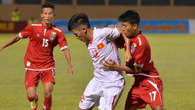 Highlights U19 Viet Nam 2-1 U19 Myanmar hinh anh