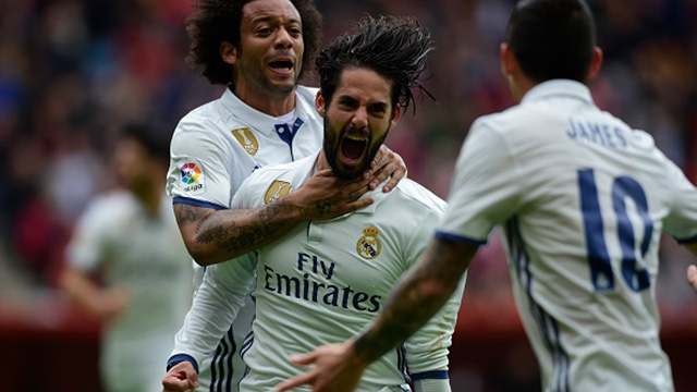 Highlights Sporting Gijon 2-3 Real Madrid hinh anh