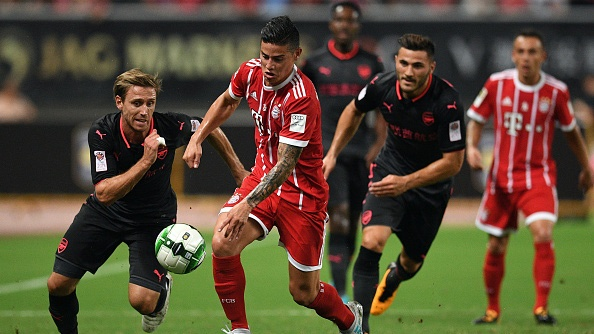 Video Arsenal danh bai Bayern Munich sau loat penalty hinh anh