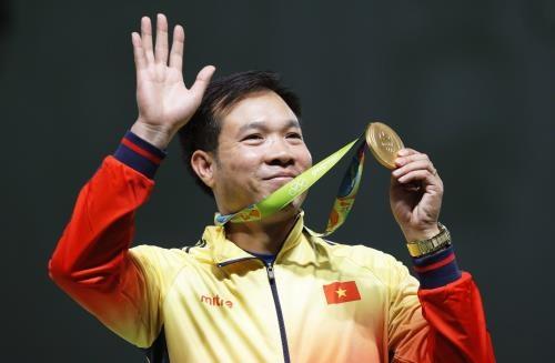 Vi sao Hoang Xuan Vinh chi co the gianh 1-2  HCV SEA Games 29? hinh anh