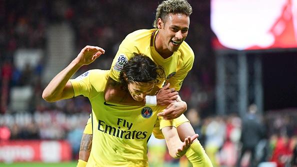 Ban thang dau tien cua Neymar trong ngay ra mat PSG hinh anh