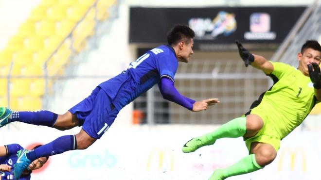Highlights U22 Thai Lan 2-0 U22 Philippines hinh anh