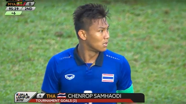 Ban thang quyet dinh dua U22 Thai Lan vao chung ket SEA Games 29 hinh anh