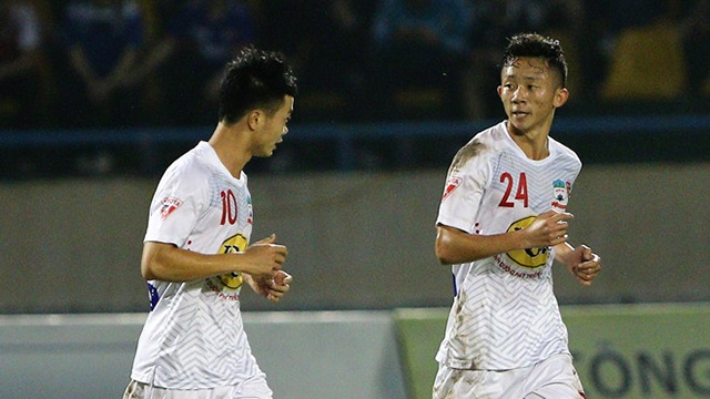 Highlights Hoang Anh Gia Lai danh bai CLB Quang Ninh hinh anh