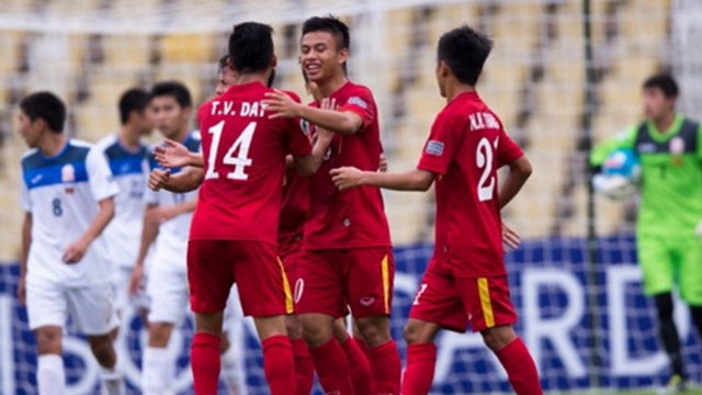 Highlights U16 Viet Nam 5-2 U16 Campuchia hinh anh