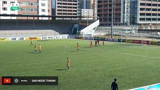 Highlights U16 Viet Nam 1-3 U16 Australia hinh anh