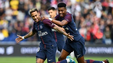 Neymar ghi ban dep nhat vong 8 Ligue 1 hinh anh