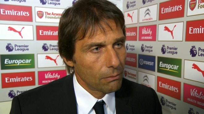 HLV Conte noi ve tran hoa 3-3 cua Chelsea truoc AS Roma hinh anh