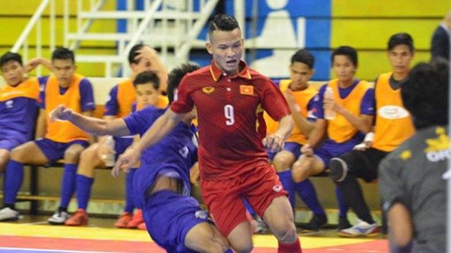 Highlights futsal Viet Nam 24-0 Philippines hinh anh