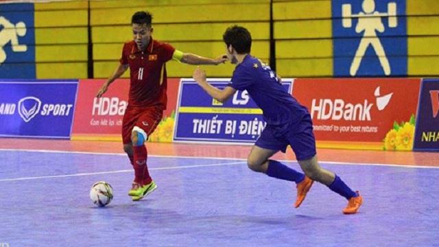 Video truc tiep futsal Viet Nam vs Indonesia hinh anh