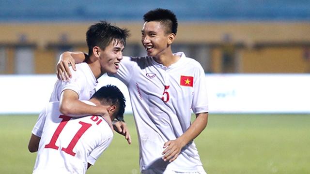 Highlights U19 Viet Nam 2-0 U19 Macau hinh anh