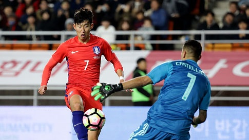 Highlights Han Quoc 2-1 Colombia hinh anh