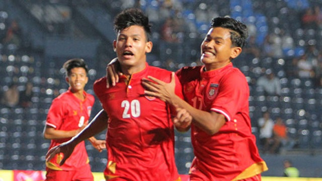 Highlights U23 Myanmar 2-2 U23 Uzbekistan hinh anh